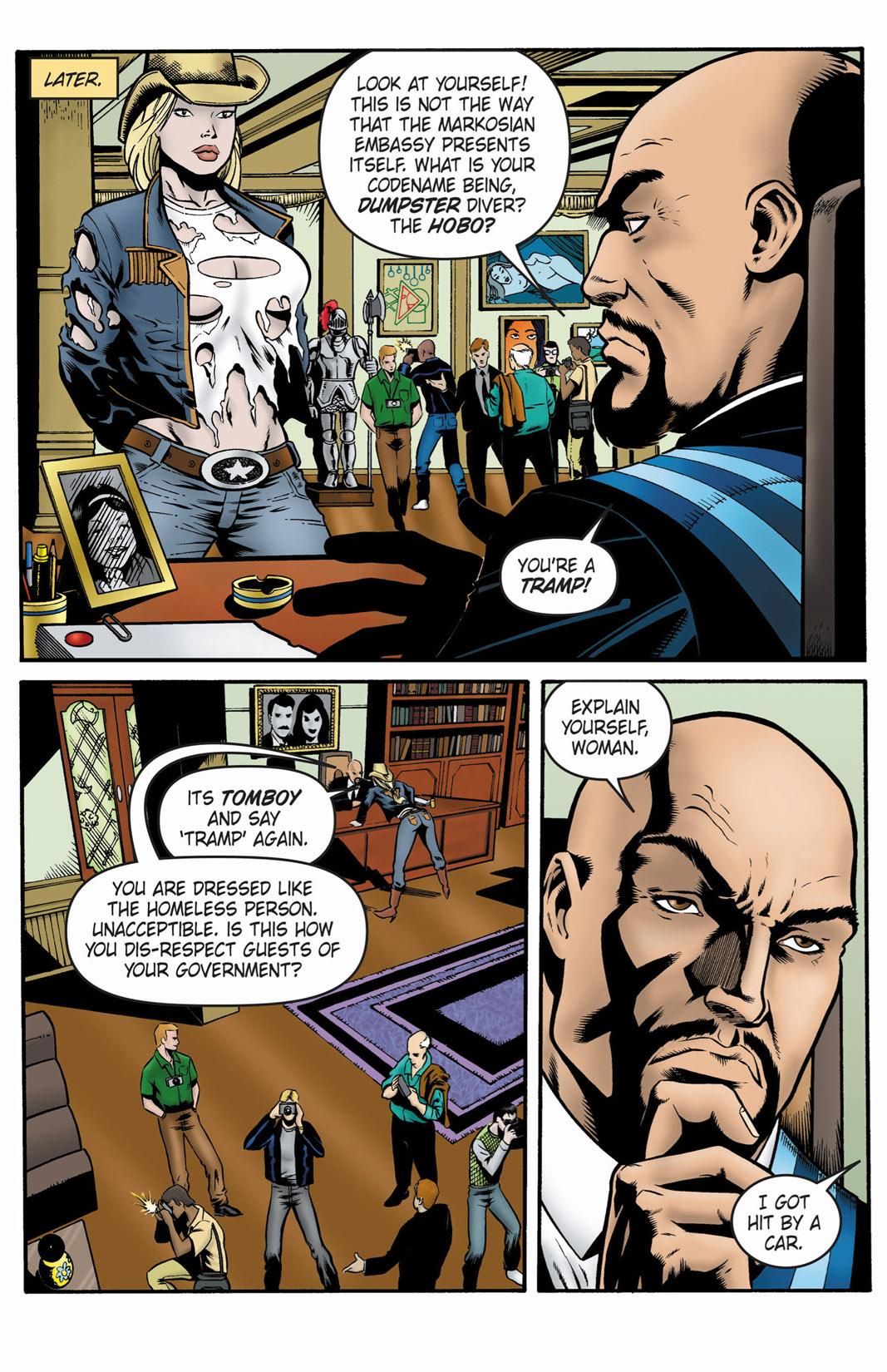 Read online SideChicks comic -  Issue #1 - 28