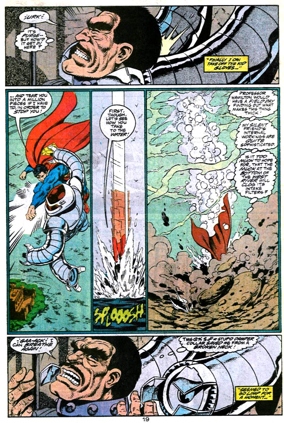 Read online Adventures of Superman (1987) comic -  Issue #486 - 20