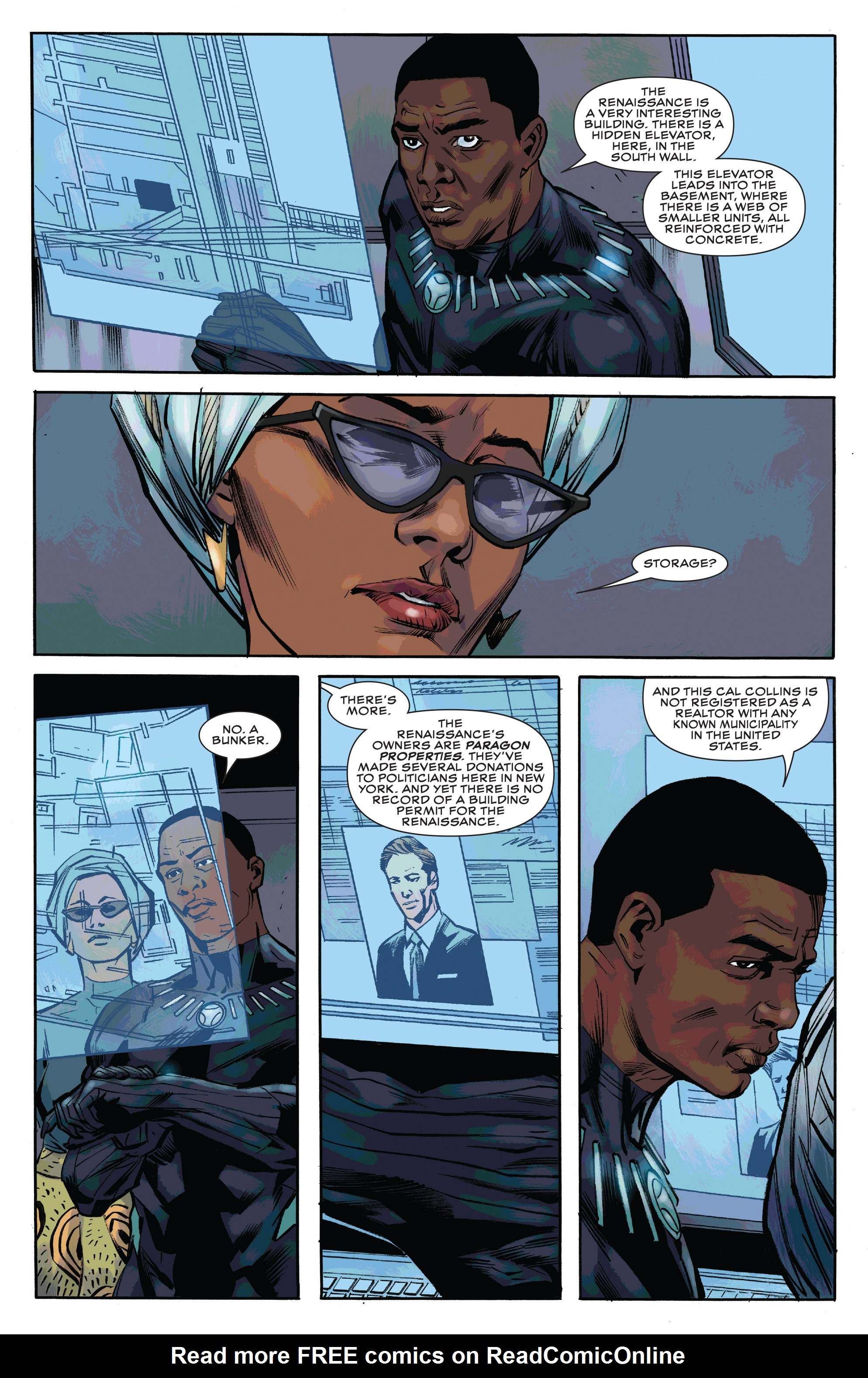 Read online Black Panther and the Crew comic -  Issue #3 - 18