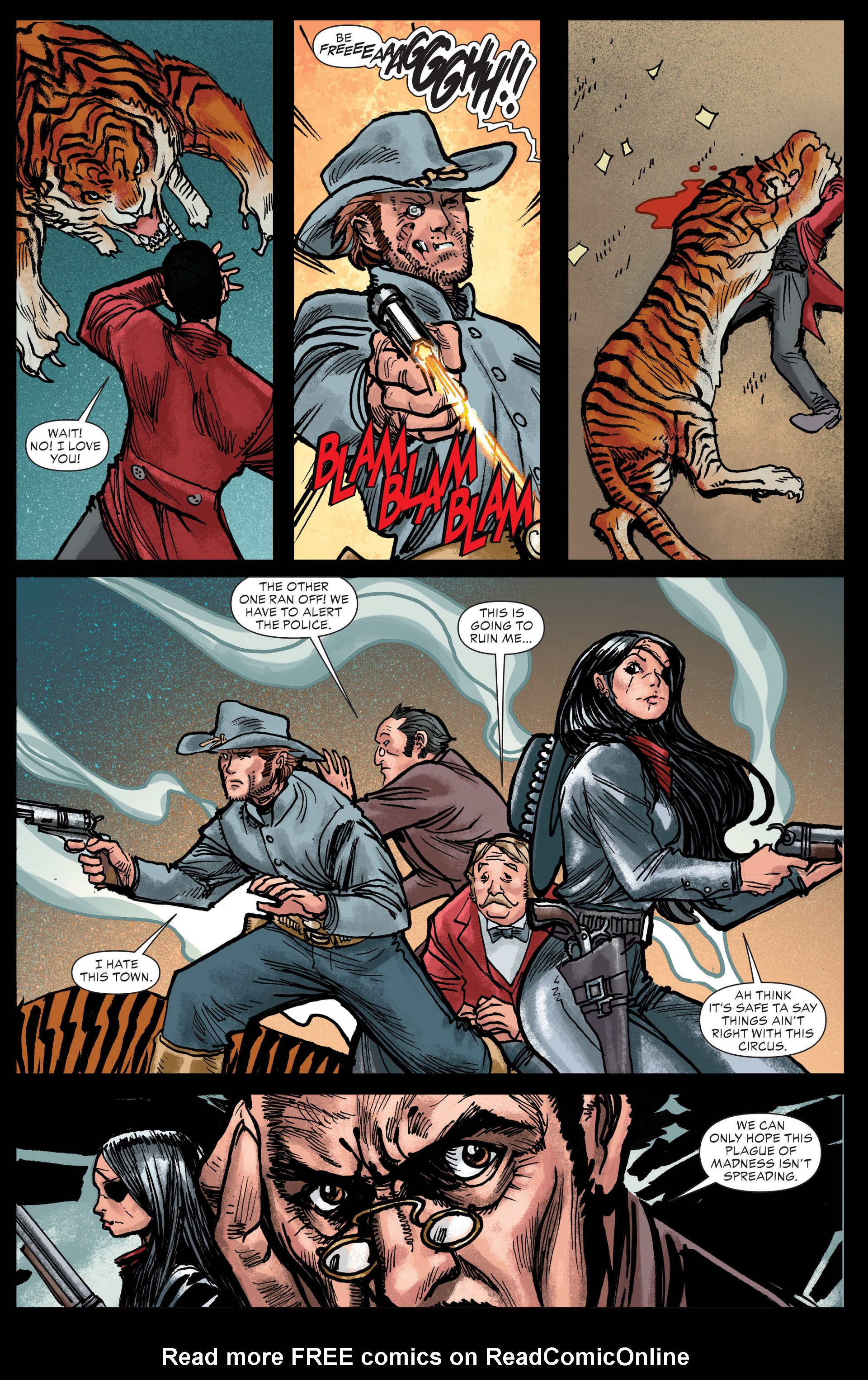 Read online All-Star Western (2011) comic -  Issue #13 - 18