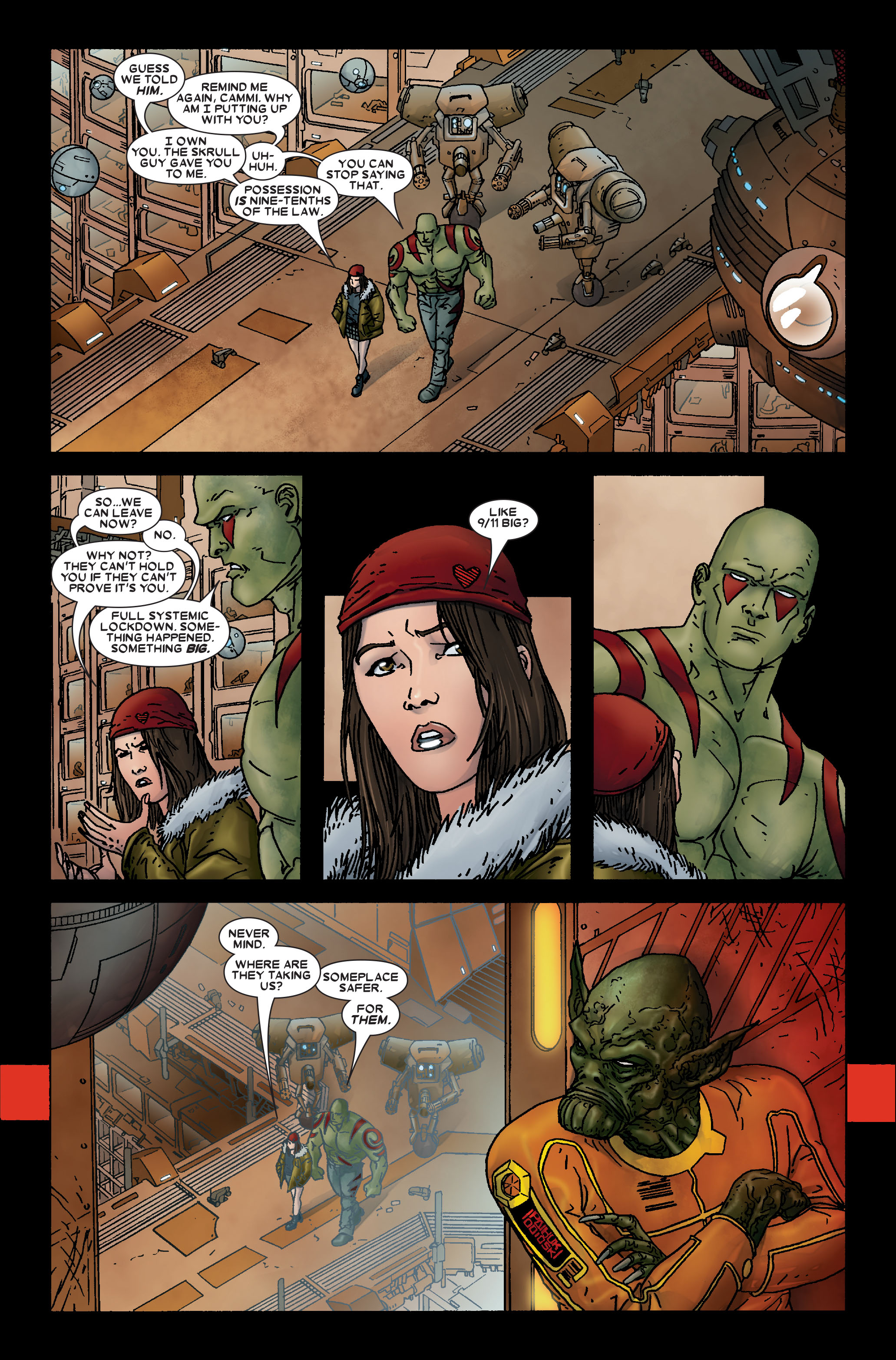 Read online Annihilation: Prologue comic -  Issue #Annihilation: Prologue Full - 13