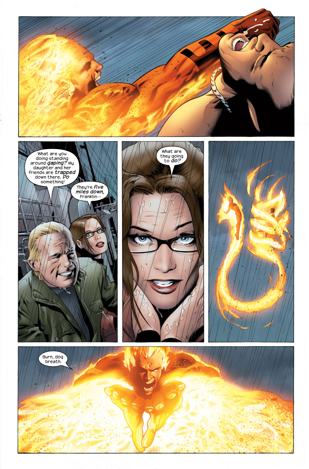Read online Ultimate Fantastic Four (2004) comic -  Issue #25 - 4
