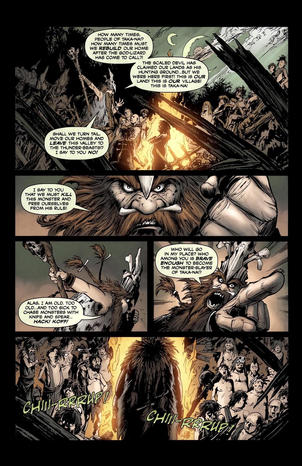 Read online Tyrannosaurus Rex comic -  Issue # Full - 7