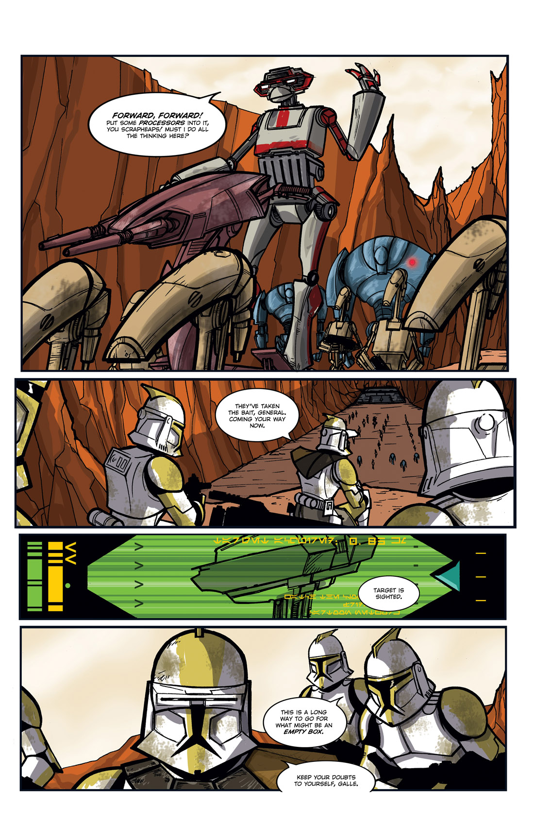 Read online Star Wars: Tales From The Clone Wars comic -  Issue # TPB - 90
