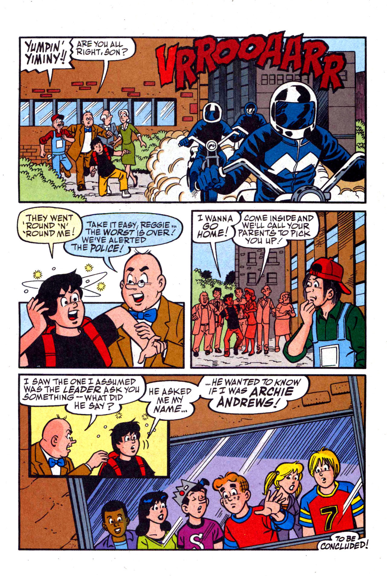 Read online Archie (1960) comic -  Issue #590 - 33
