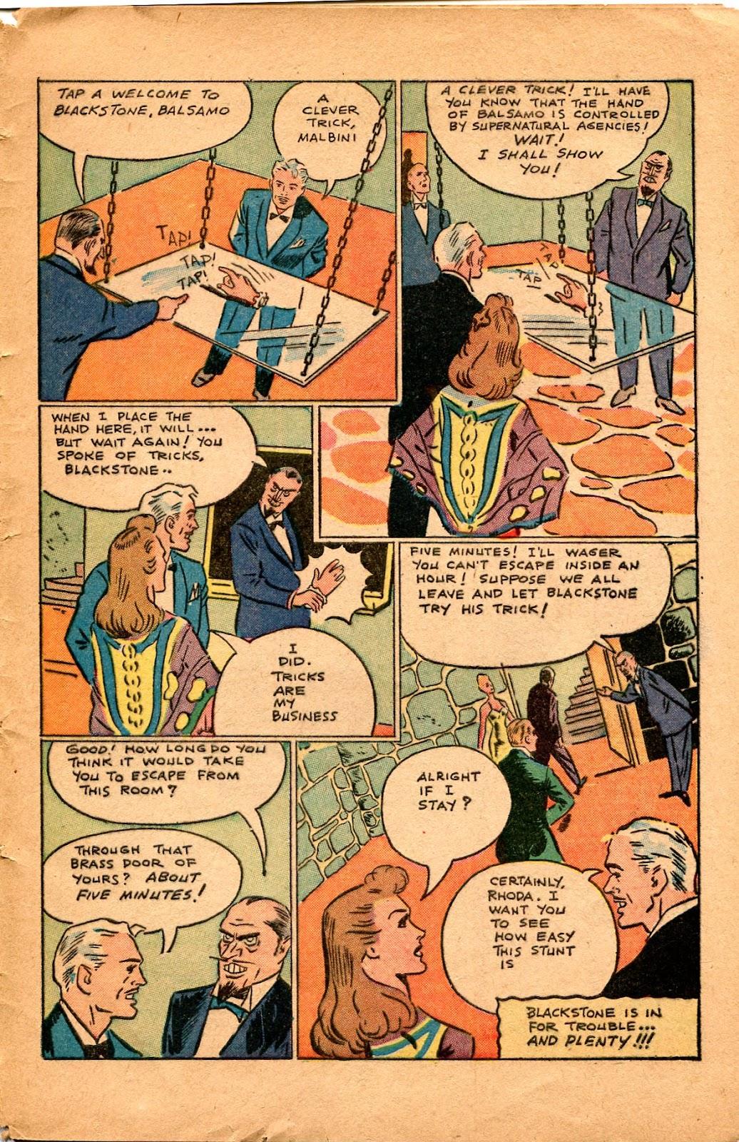 Read online Super-Magician Comics comic -  Issue #34 - 45