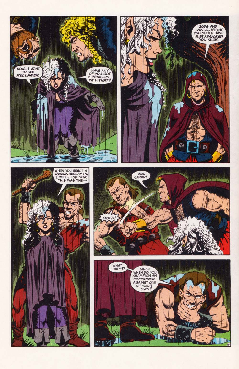 Read online Advanced Dungeons & Dragons comic -  Issue #28 - 6