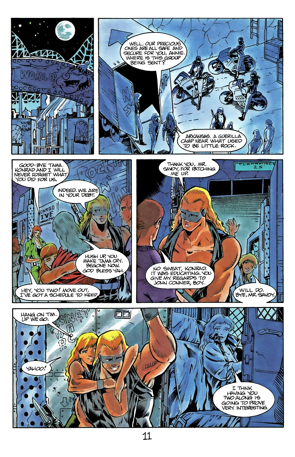 The Terminator (1988) issue 12 - Page 13