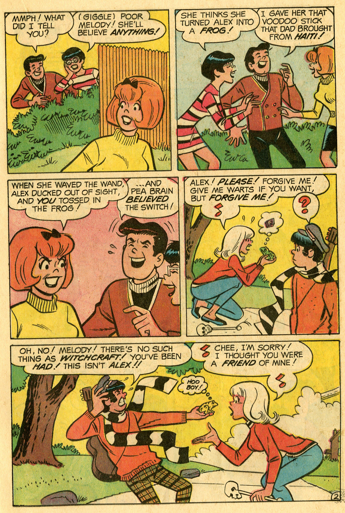 Read online She's Josie comic -  Issue #32 - 21