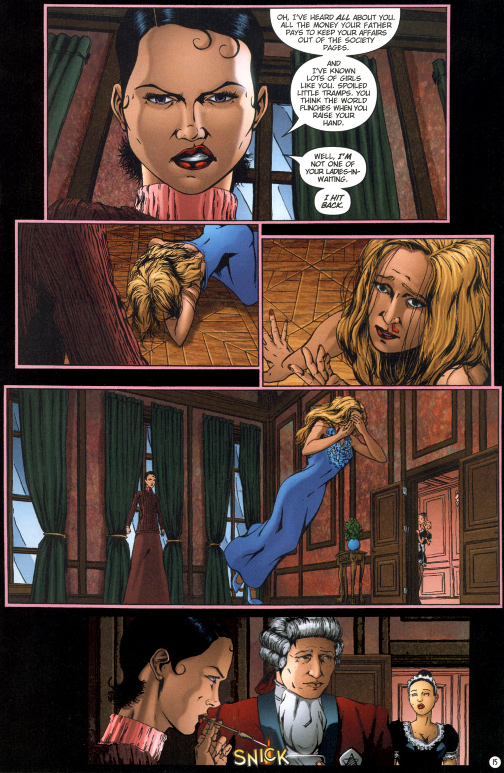 Read online Rex Mundi comic -  Issue #11 - 19