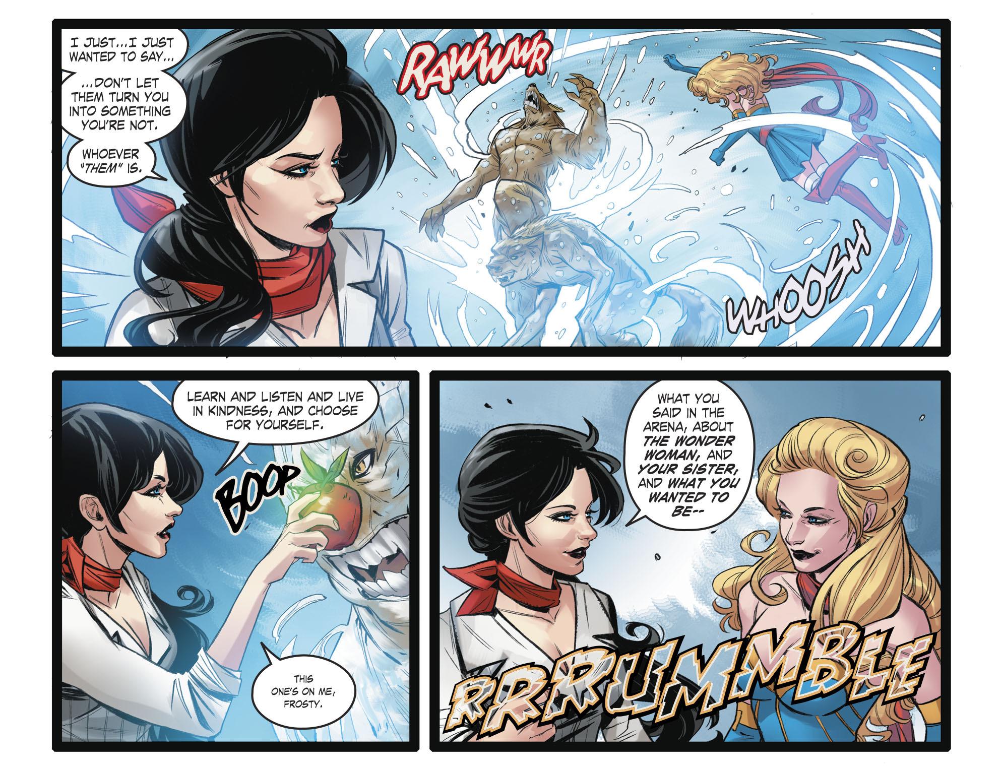 Read online DC Comics: Bombshells comic -  Issue #93 - 13