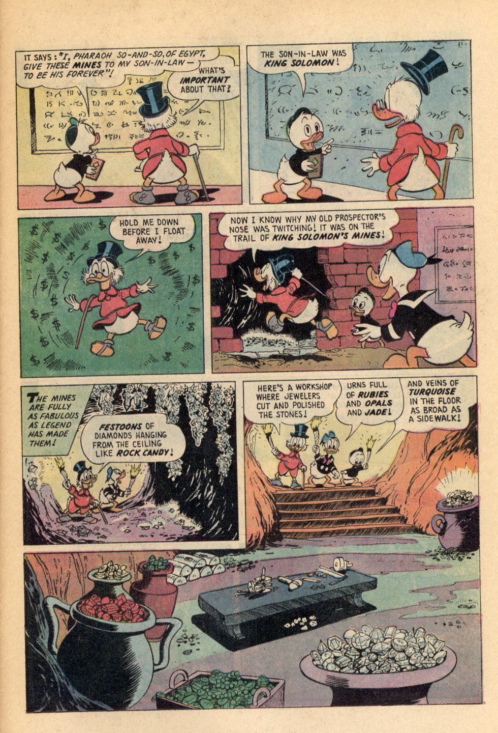 Read online Uncle Scrooge (1953) comic -  Issue #108 - 25