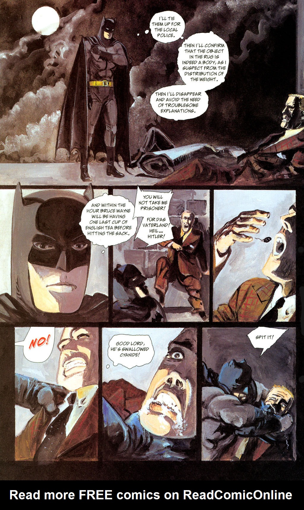Read online Batman: The Order of Beasts comic -  Issue # Full - 16