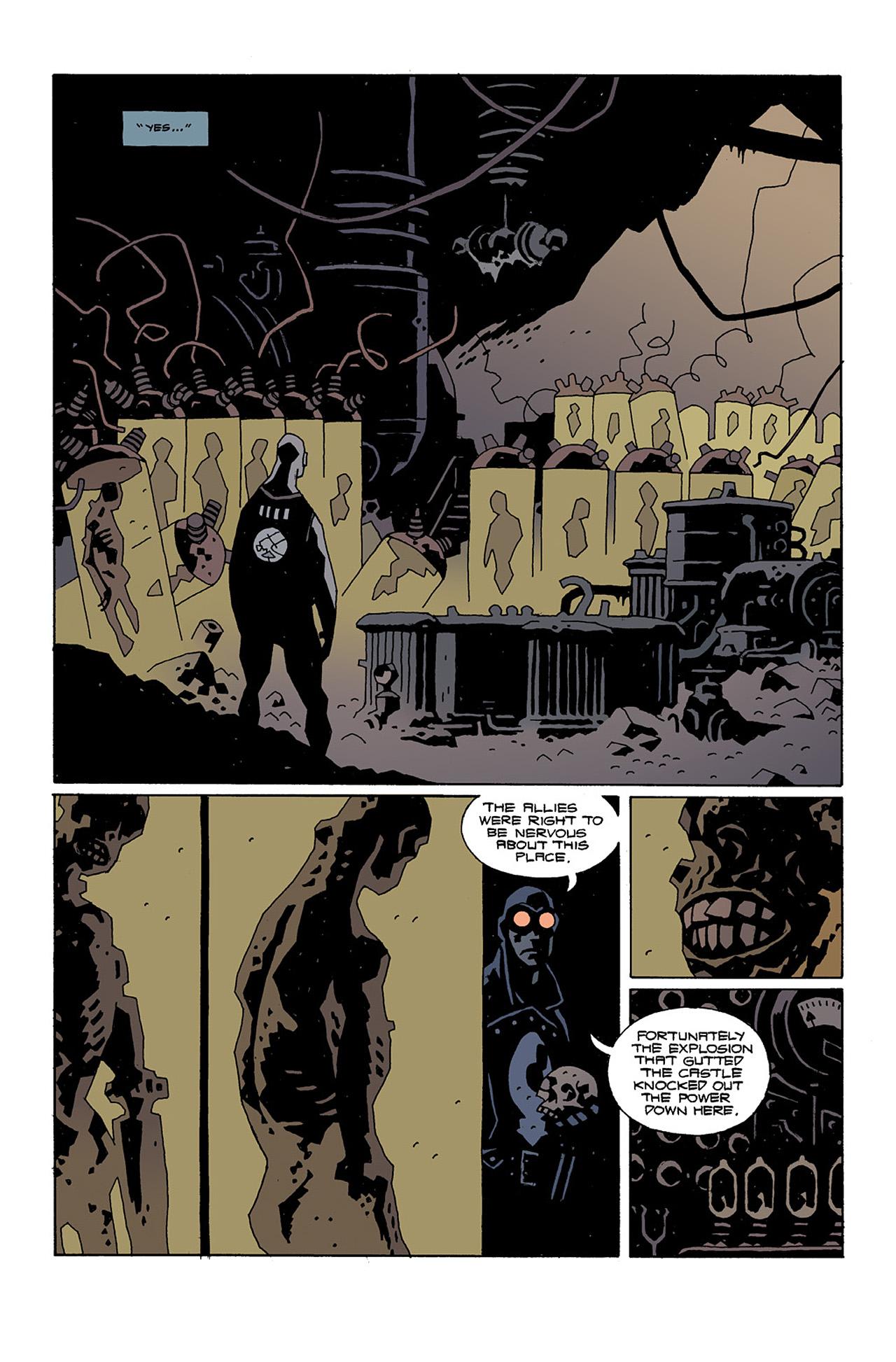Read online Hellboy: Conqueror Worm comic -  Issue #2 - 14