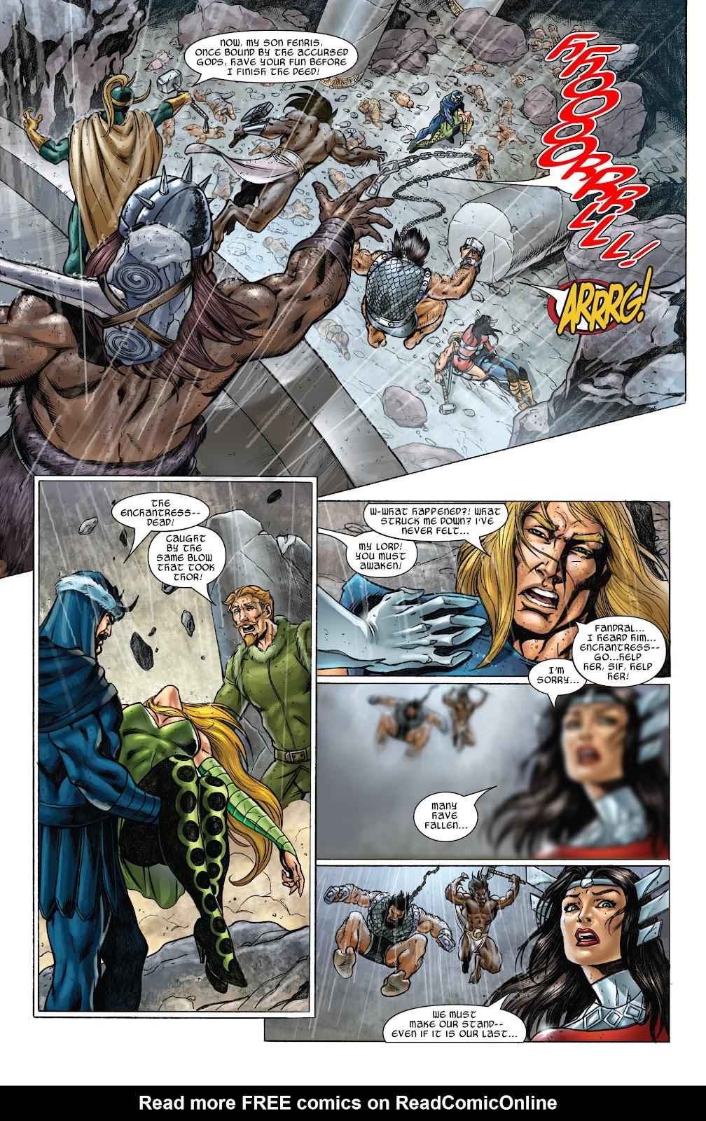 Read online Thor: Ragnaroks comic -  Issue # TPB (Part 2) - 42