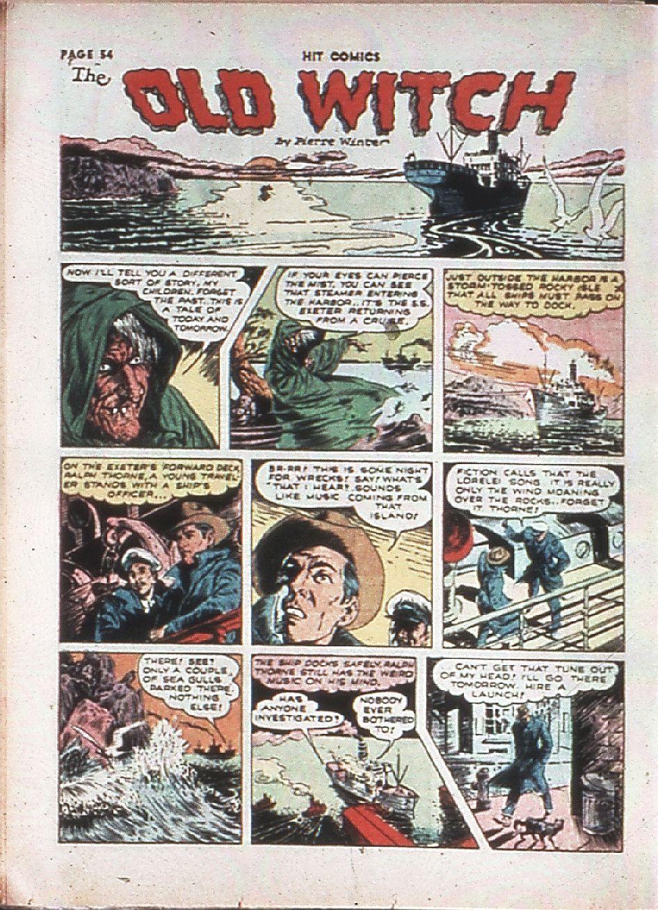Read online Hit Comics comic -  Issue #10 - 56