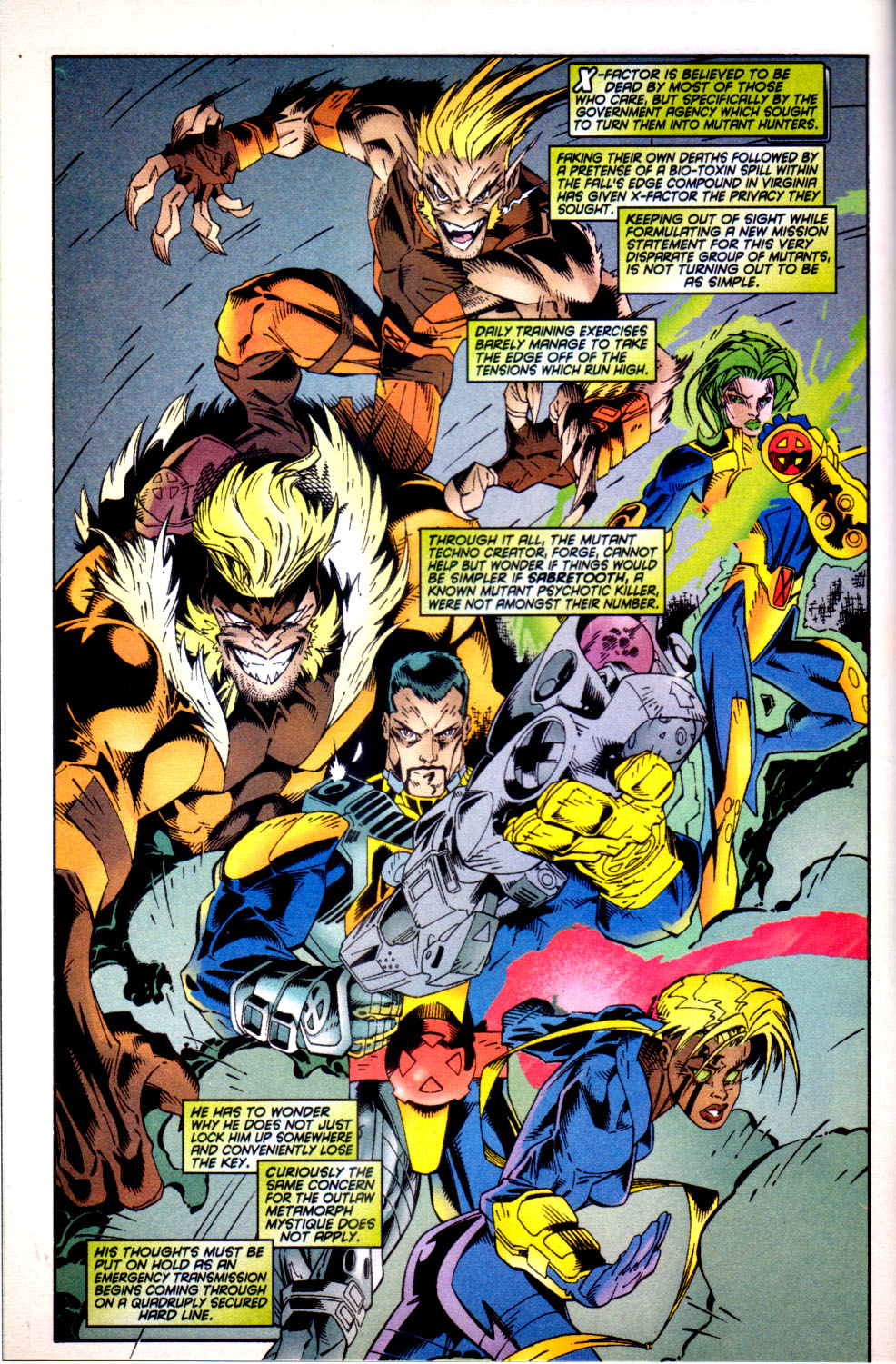 Read online X-Factor (1986) comic -  Issue #135 - 5