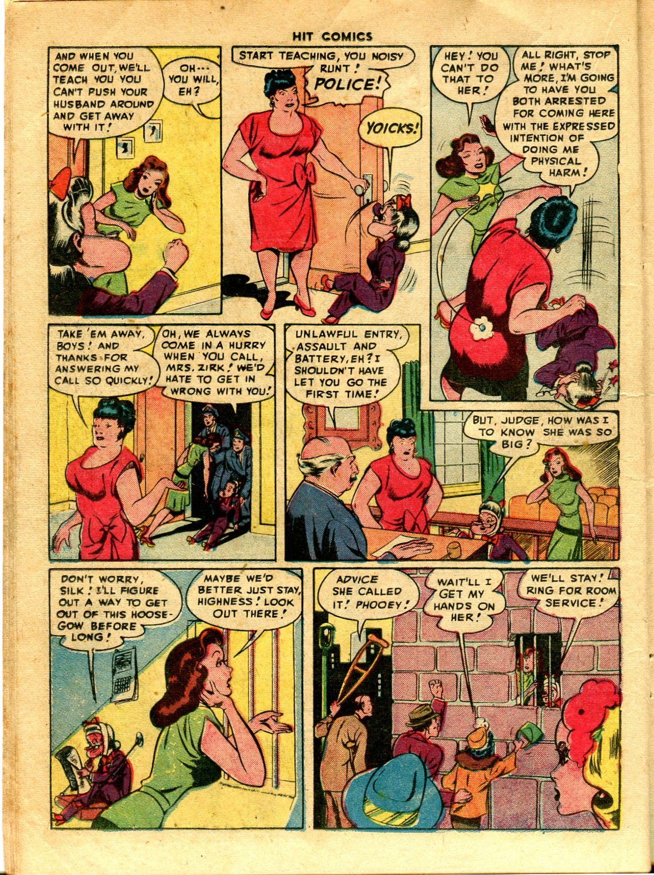 Read online Hit Comics comic -  Issue #48 - 20