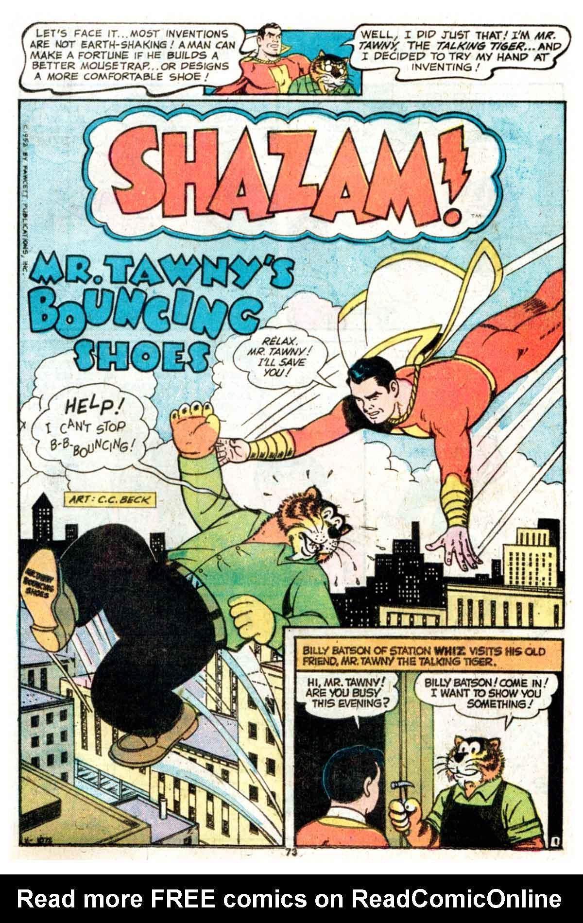 Read online Shazam! (1973) comic -  Issue #15 - 73