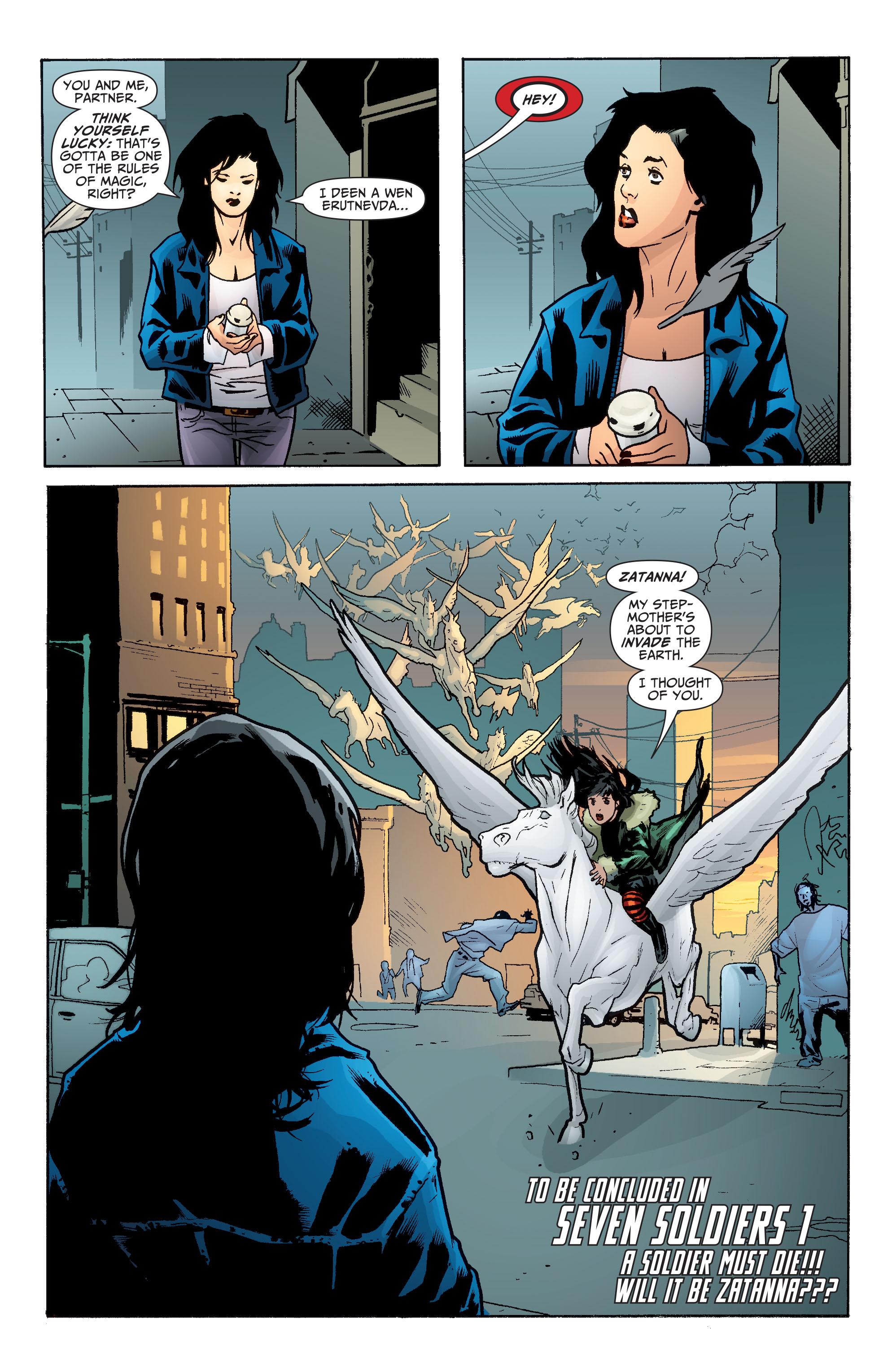 Read online Seven Soldiers: Zatanna comic -  Issue #4 - 22