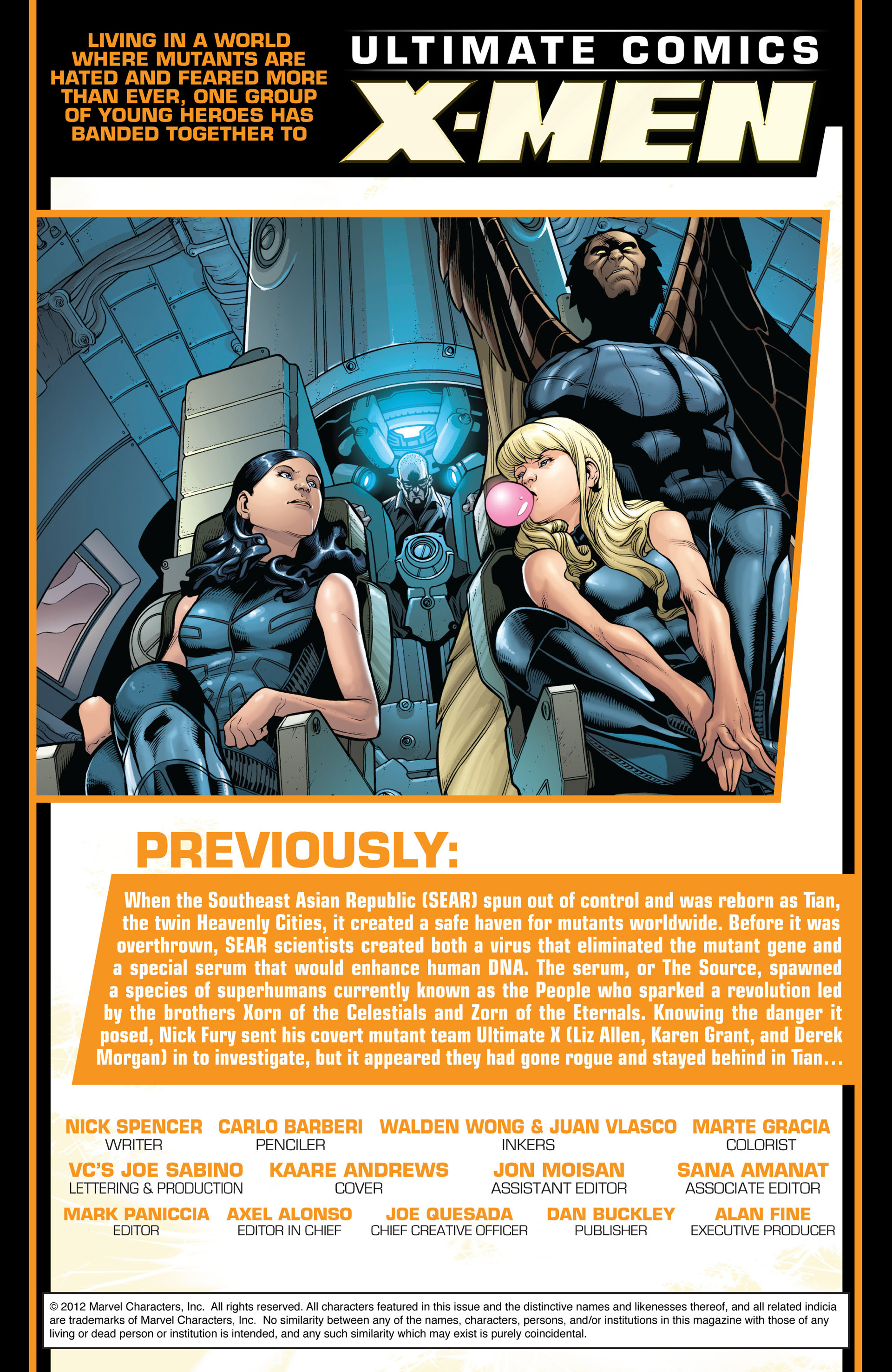 Read online Ultimate Comics X-Men comic -  Issue #8 - 2