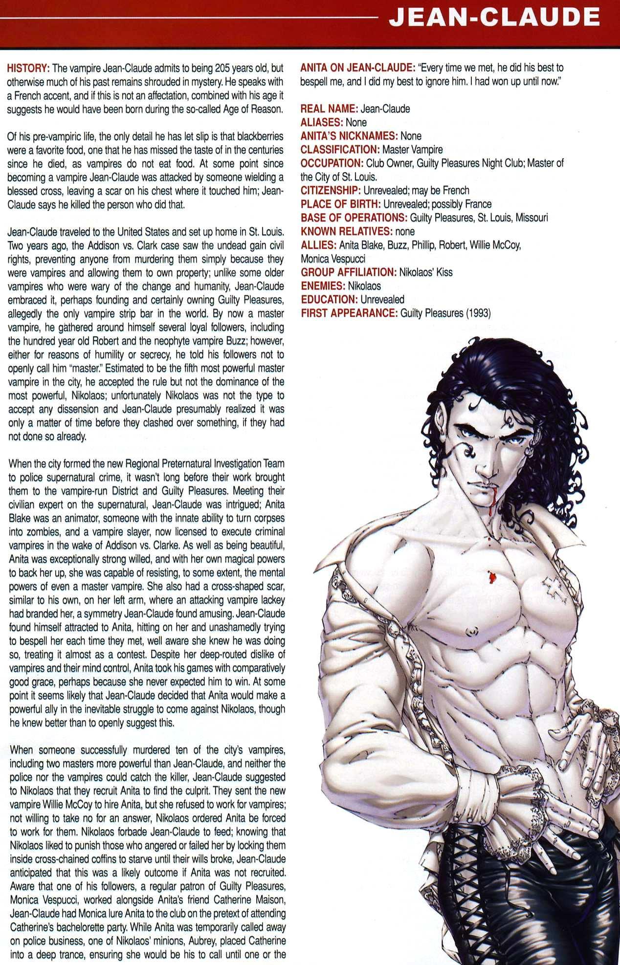 Read online Anita Blake, Vampire Hunter: Guilty Pleasures Handbook comic -  Issue #Anita Blake, Vampire Hunter: Guilty Pleasures Handbook Full - 19