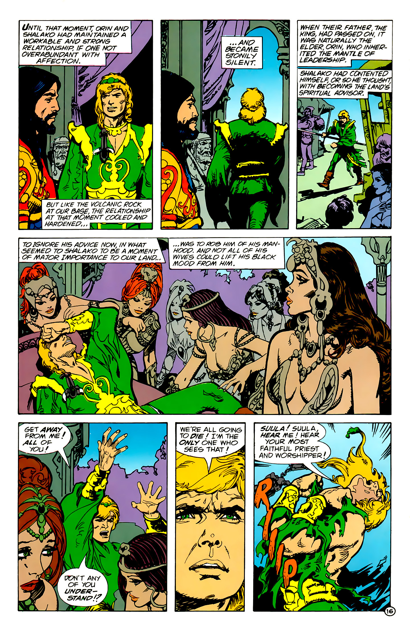 Read online Atlantis Chronicles comic -  Issue #1 - 16