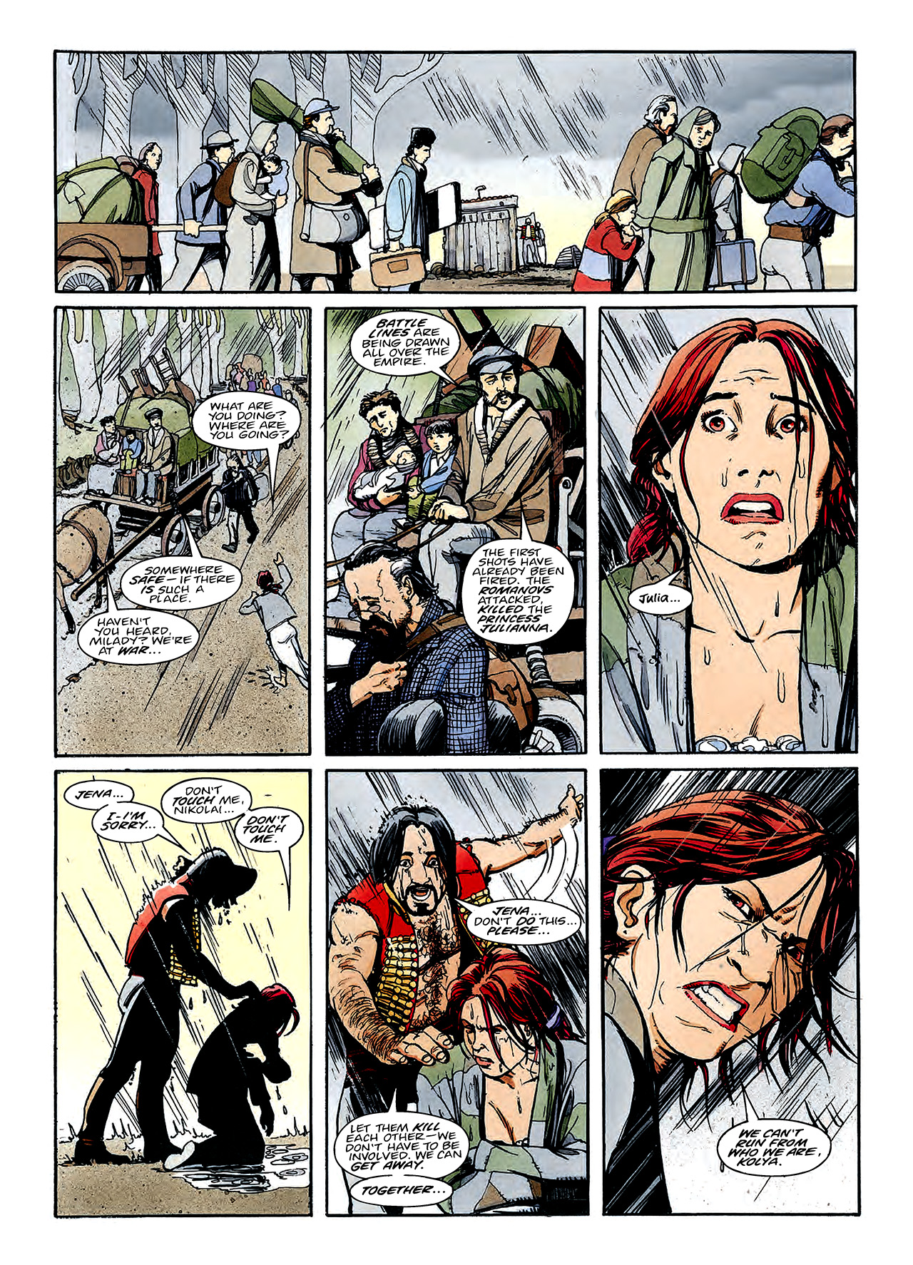 Read online Nikolai Dante comic -  Issue # TPB 3 - 130