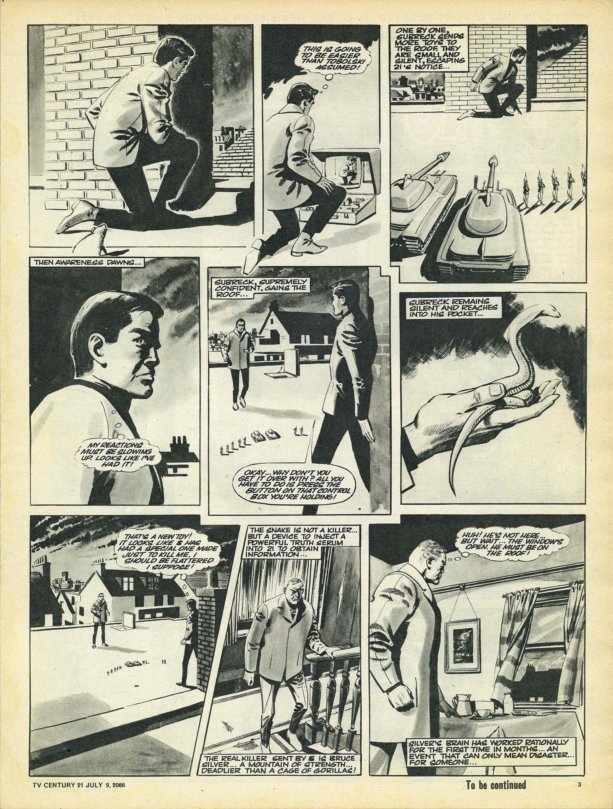 Read online TV Century 21 (TV 21) comic -  Issue #77 - 3