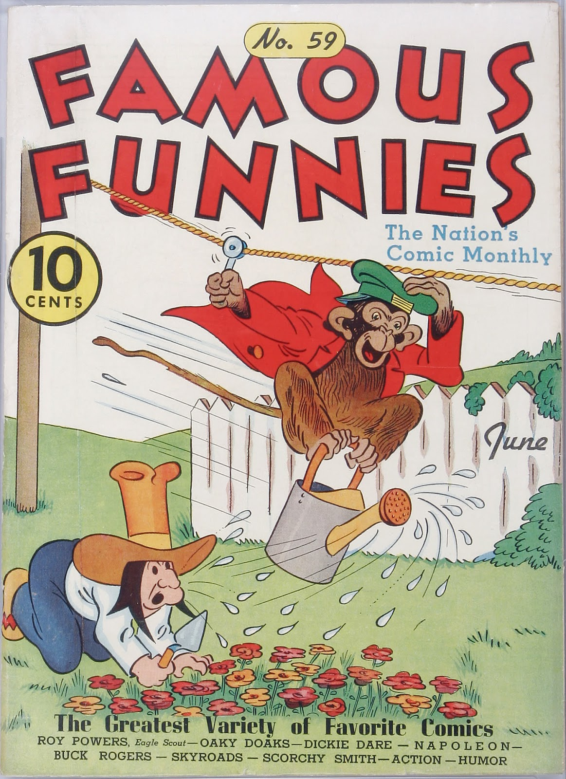 Read online Famous Funnies comic -  Issue #59 - 1