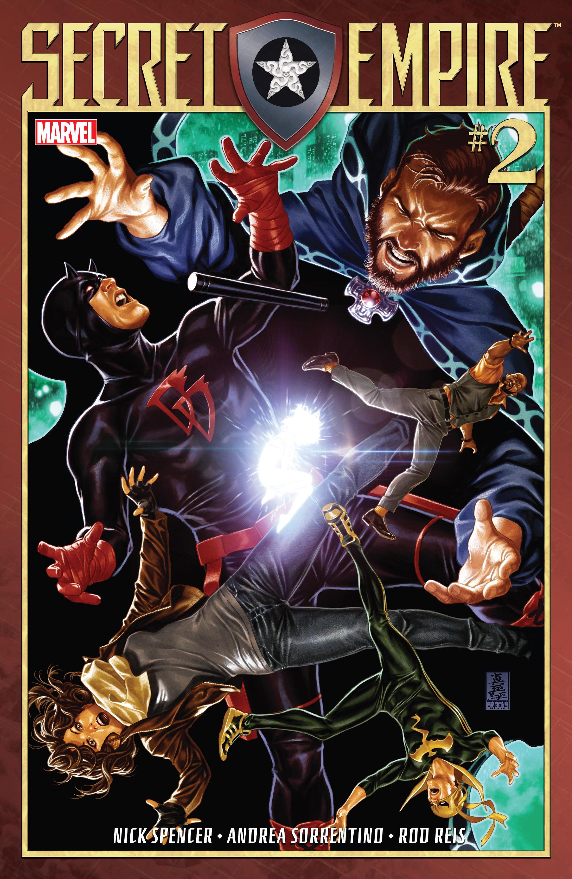 Read online Secret Empire comic -  Issue #2 - 1