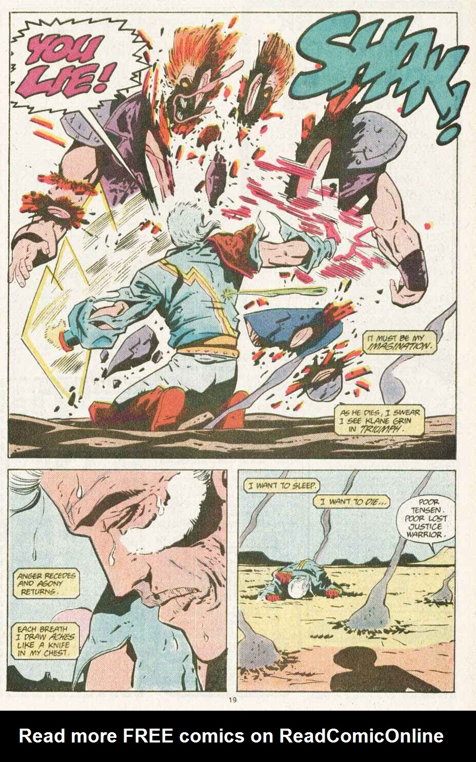 Read online Justice (1986) comic -  Issue #10 - 20