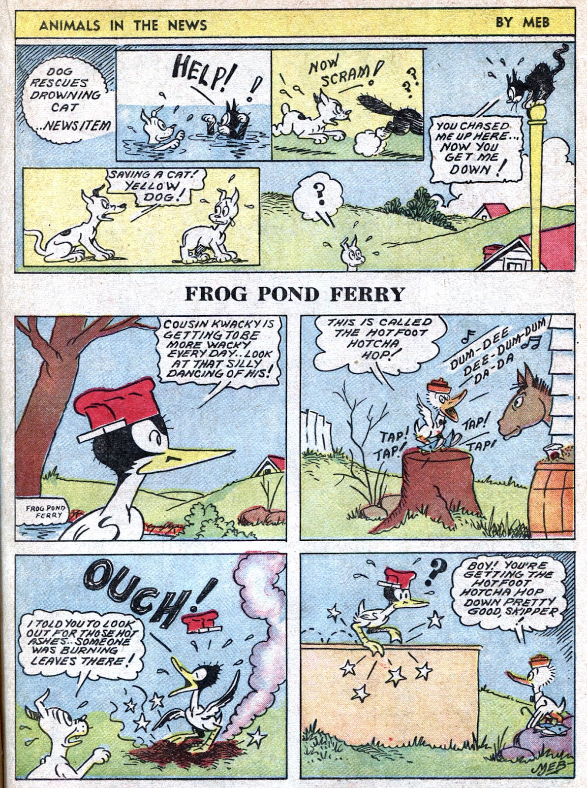 Read online Famous Funnies comic -  Issue #66 - 35