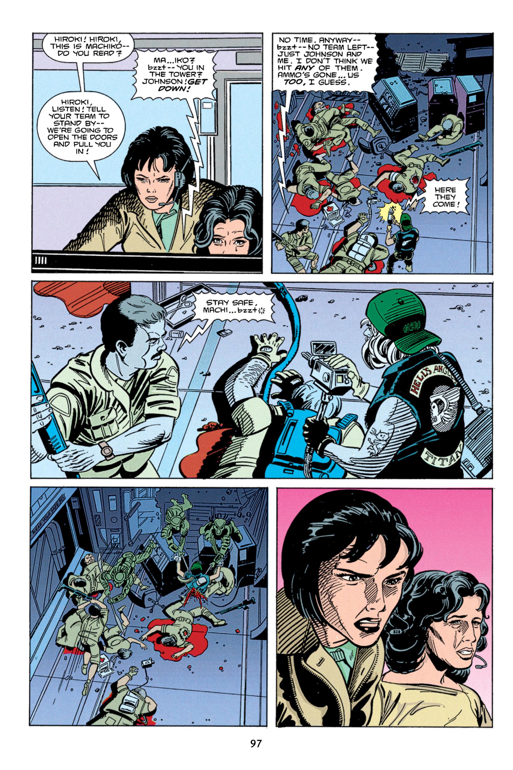 Read online Aliens vs. Predator Omnibus comic -  Issue # _TPB 1 Part 1 - 97