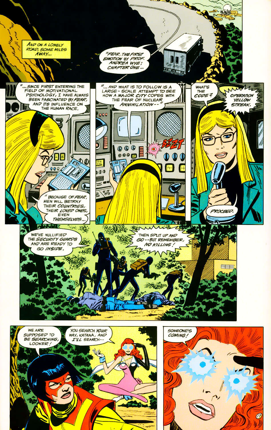 Read online Adventures of the Outsiders comic -  Issue #39 - 18
