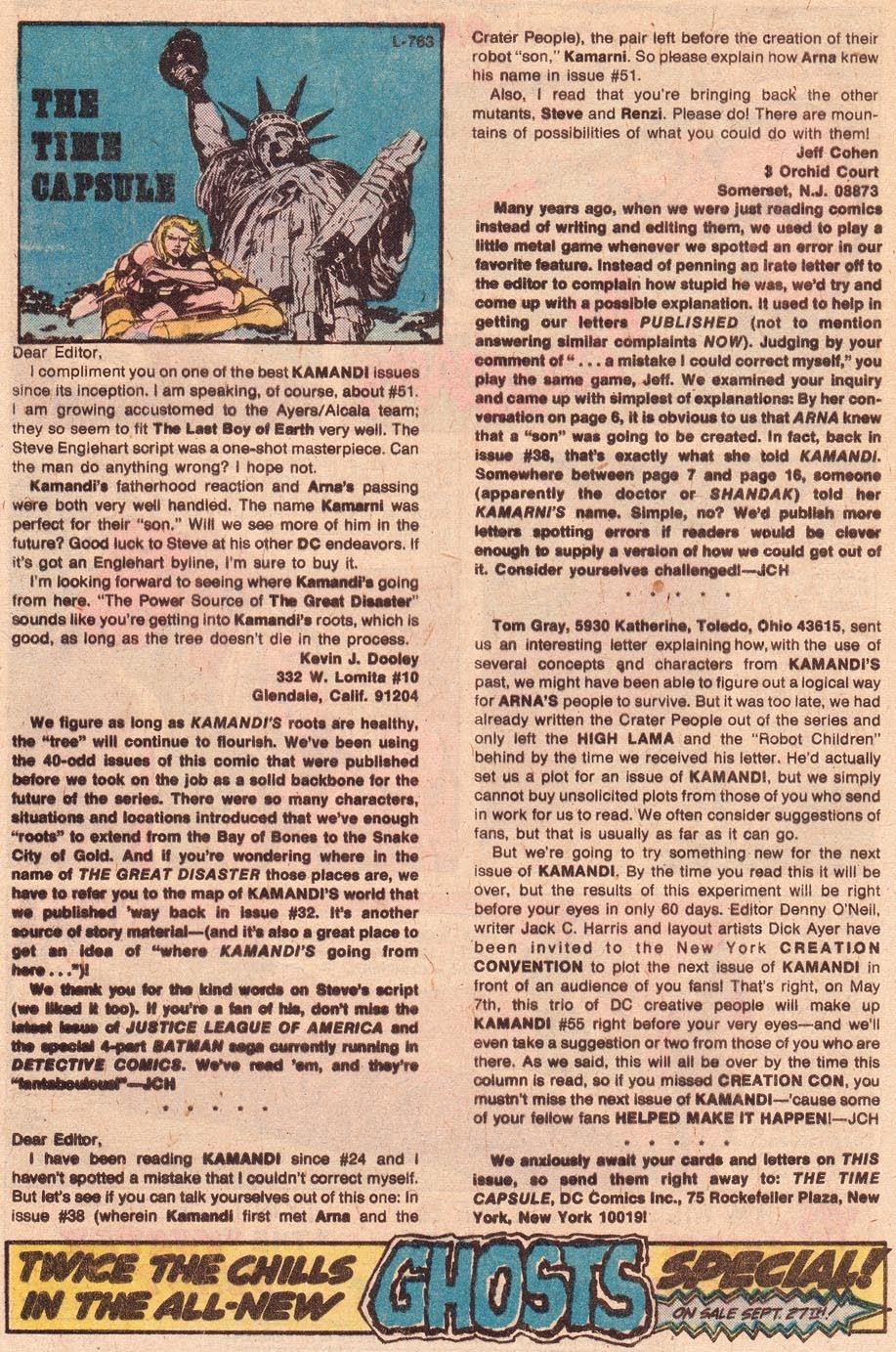 Kamandi, The Last Boy On Earth issue 54 - Page 20