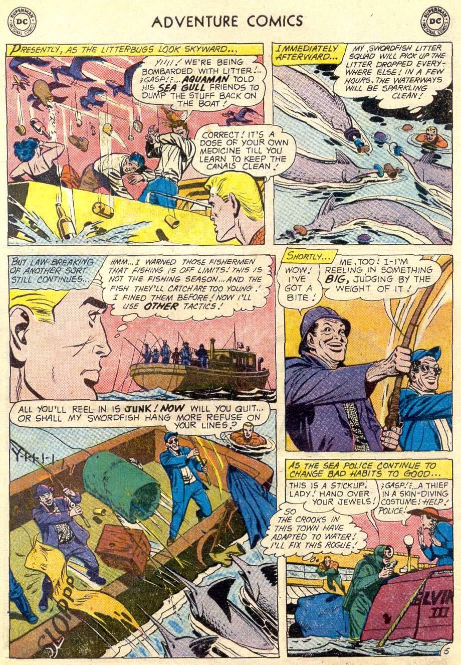 Read online Adventure Comics (1938) comic -  Issue #264 - 21