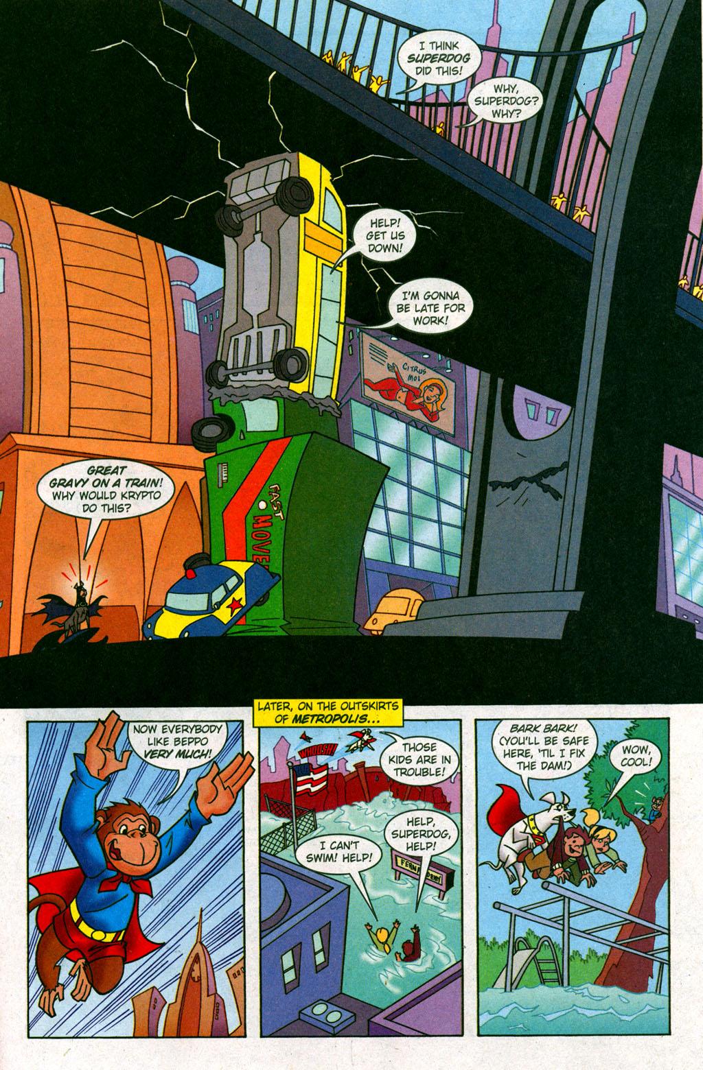 Read online Krypto the Superdog comic -  Issue #6 - 15