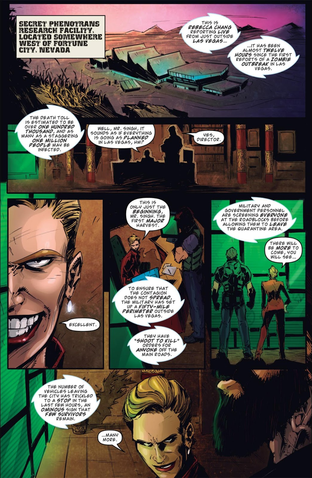 Read online Dead Rising: Road to Fortune comic -  Issue #4 - 23