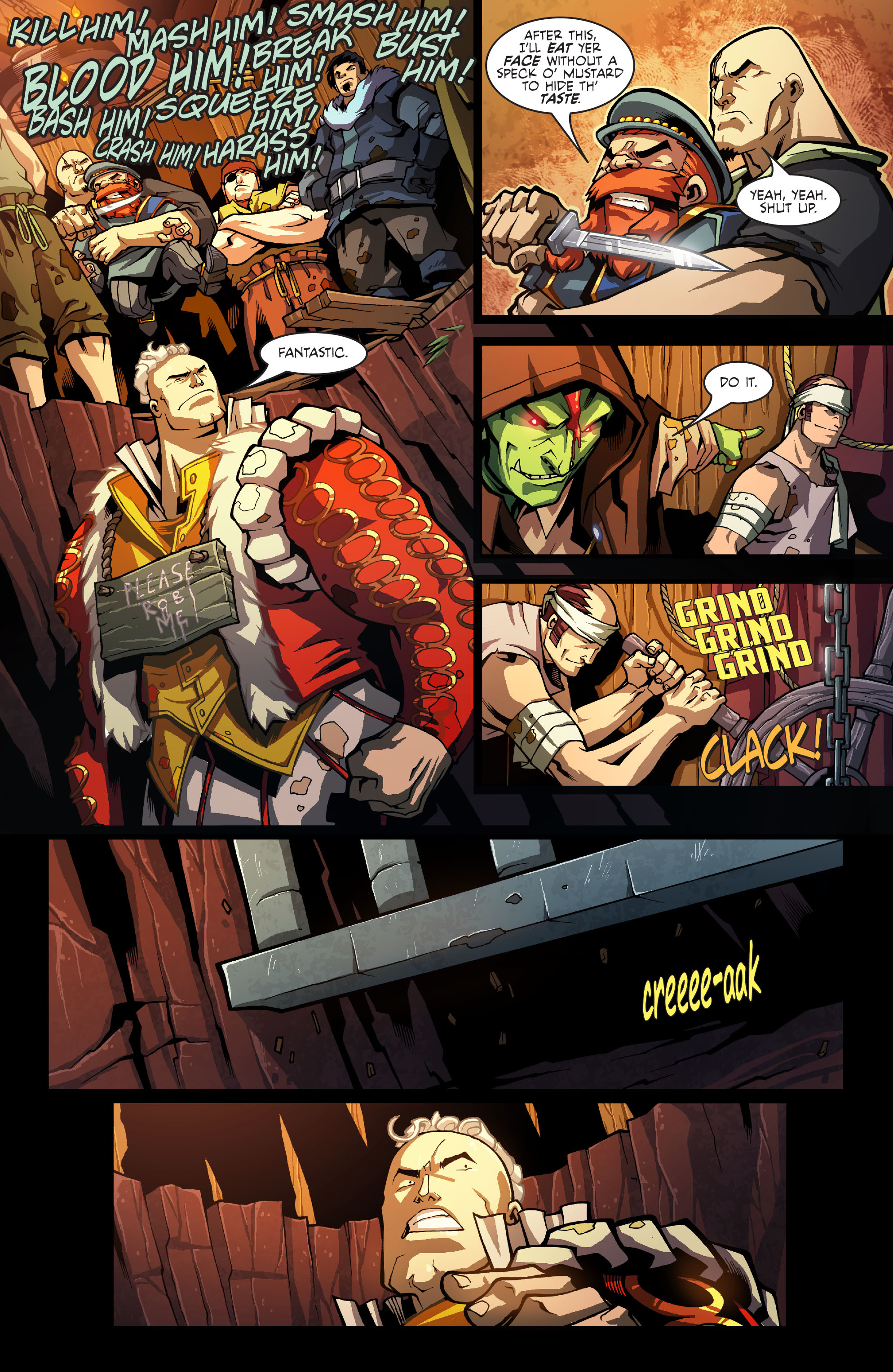 Read online Skullkickers comic -  Issue #8 - 21