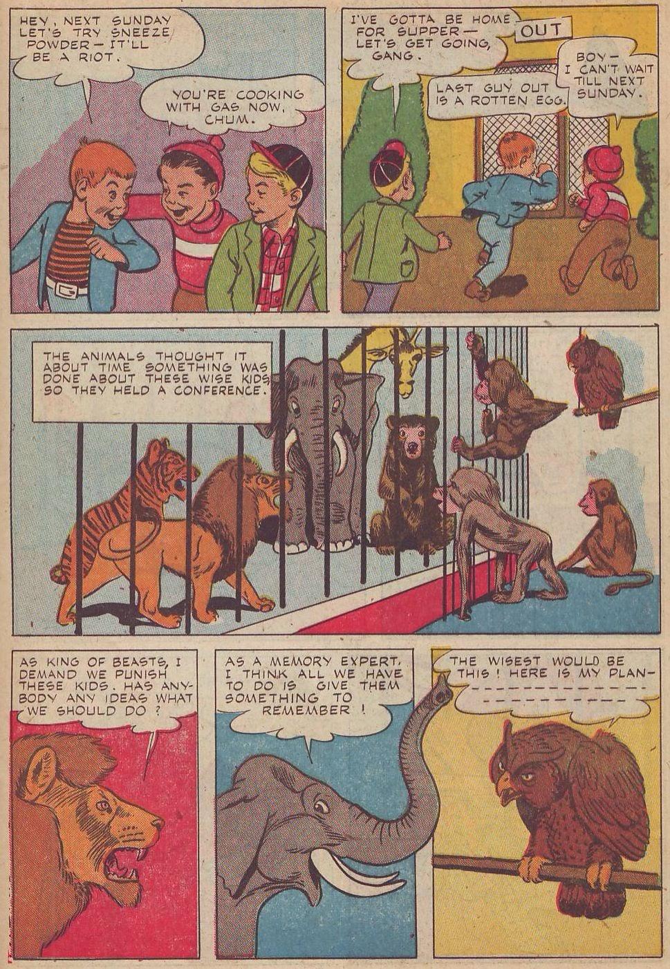 Read online Animal Comics comic -  Issue #20 - 35