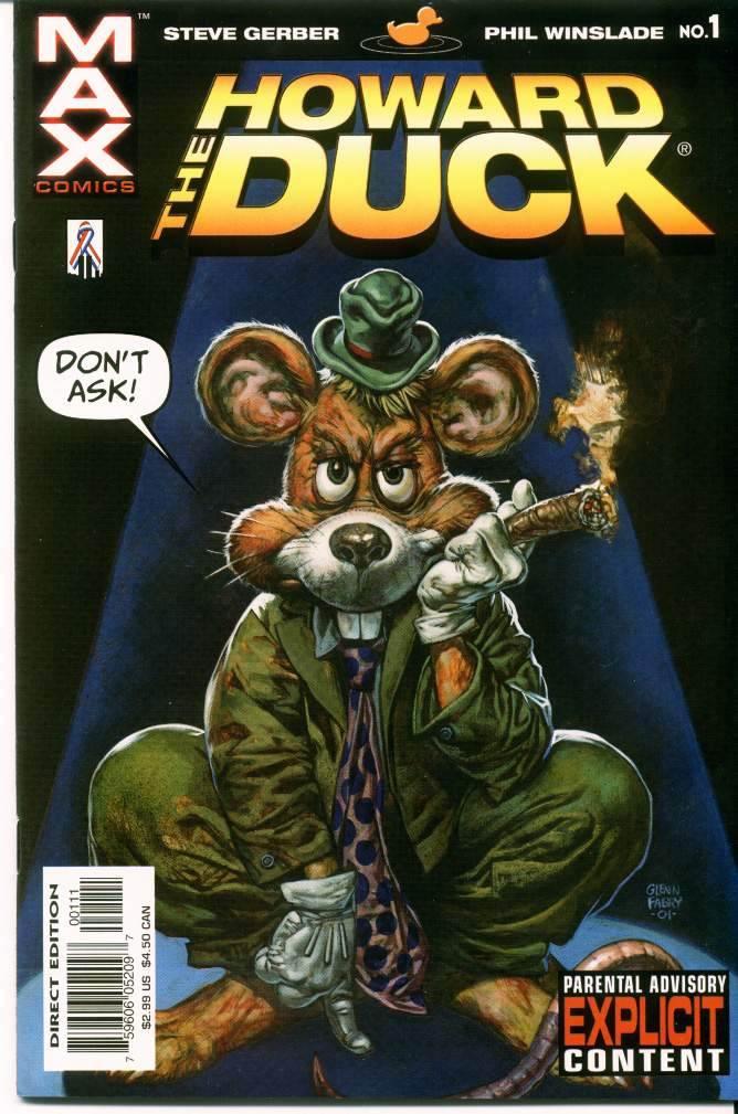 Howard the Duck (2002) issue 1 - Page 1