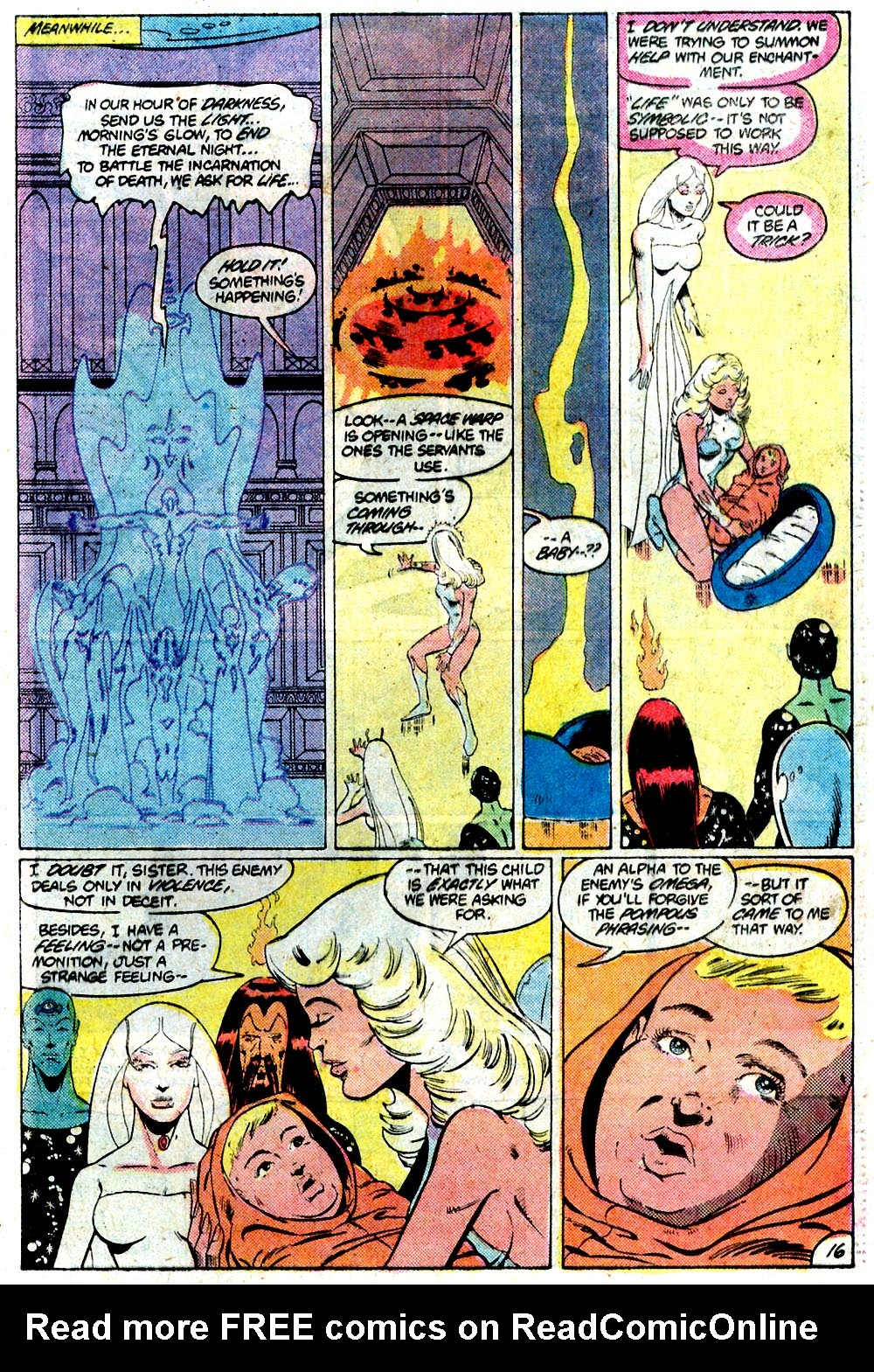 Legion of Super-Heroes (1980) 292 Page 16