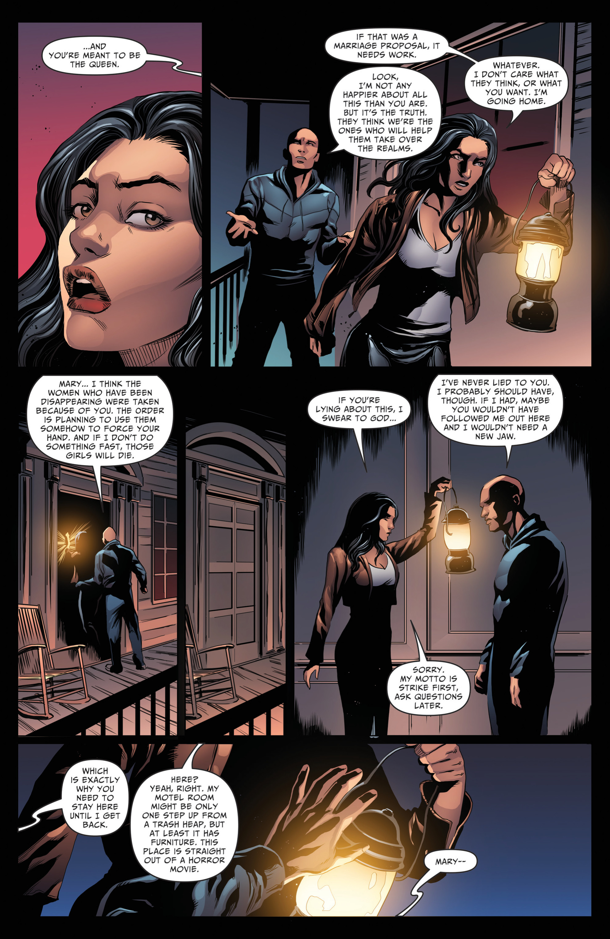 Read online Grimm Fairy Tales: Day of the Dead comic -  Issue #4 - 10