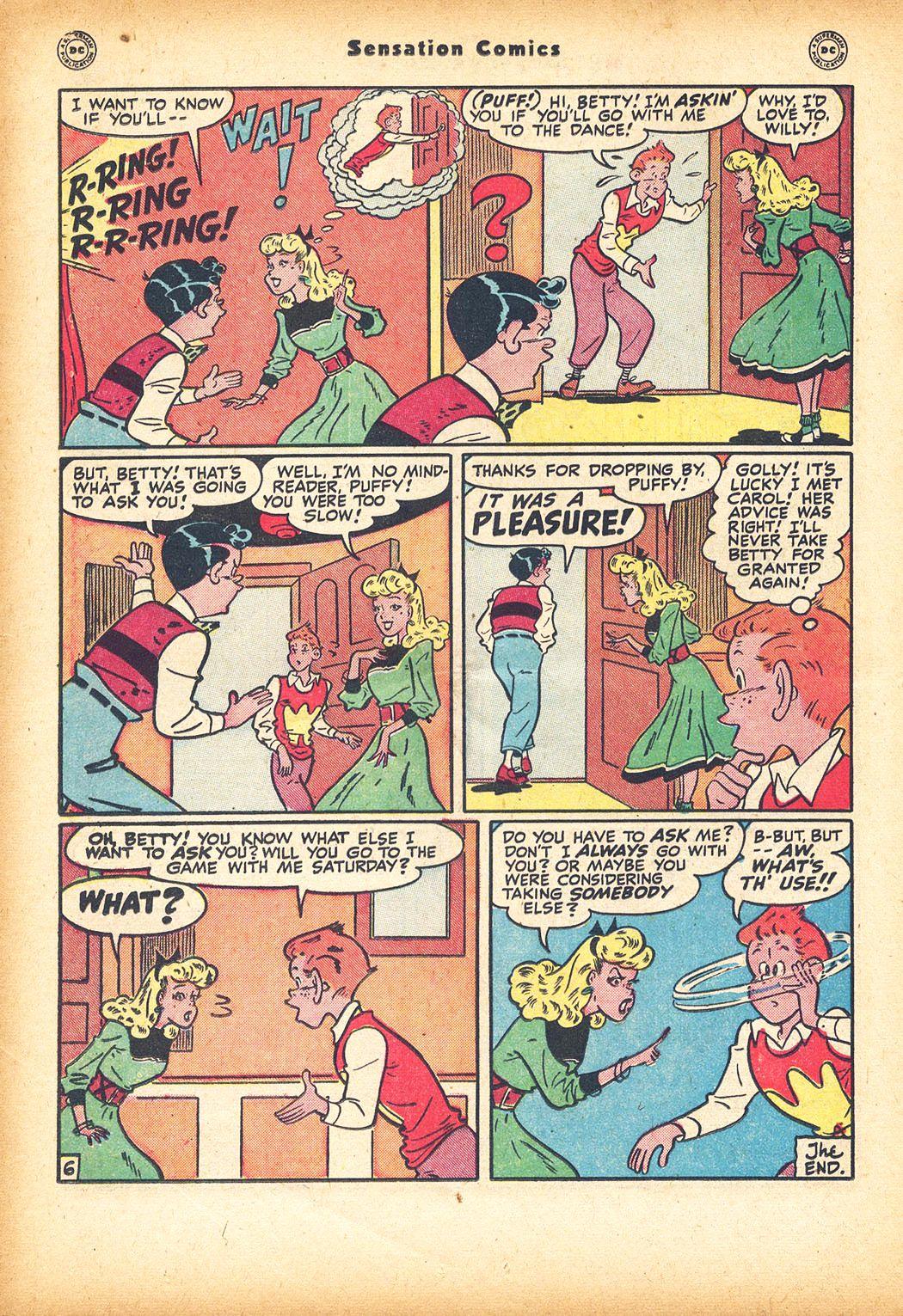 Read online Sensation (Mystery) Comics comic -  Issue #78 - 30