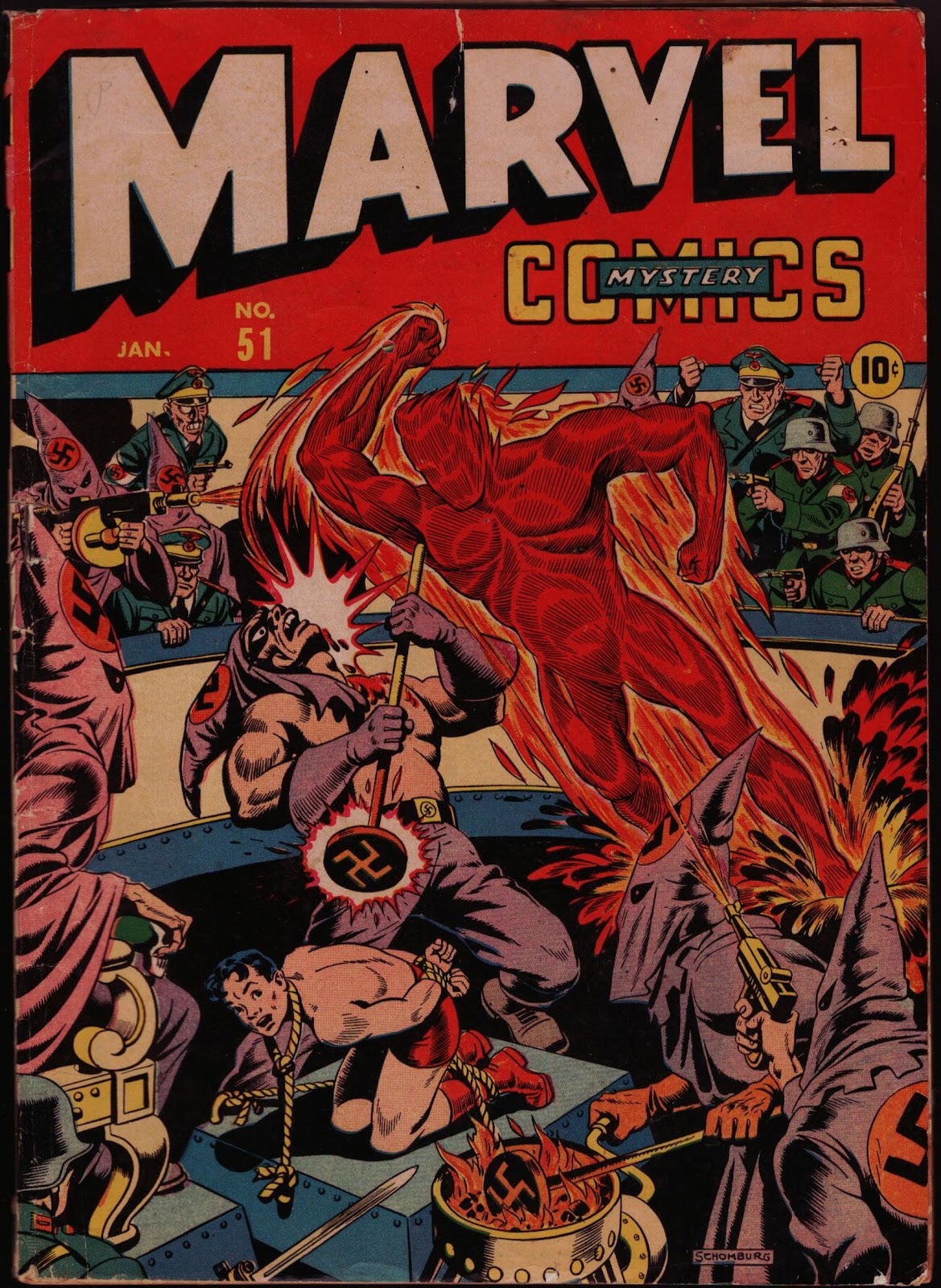 Marvel Mystery Comics (1939) issue 51 - Page 1