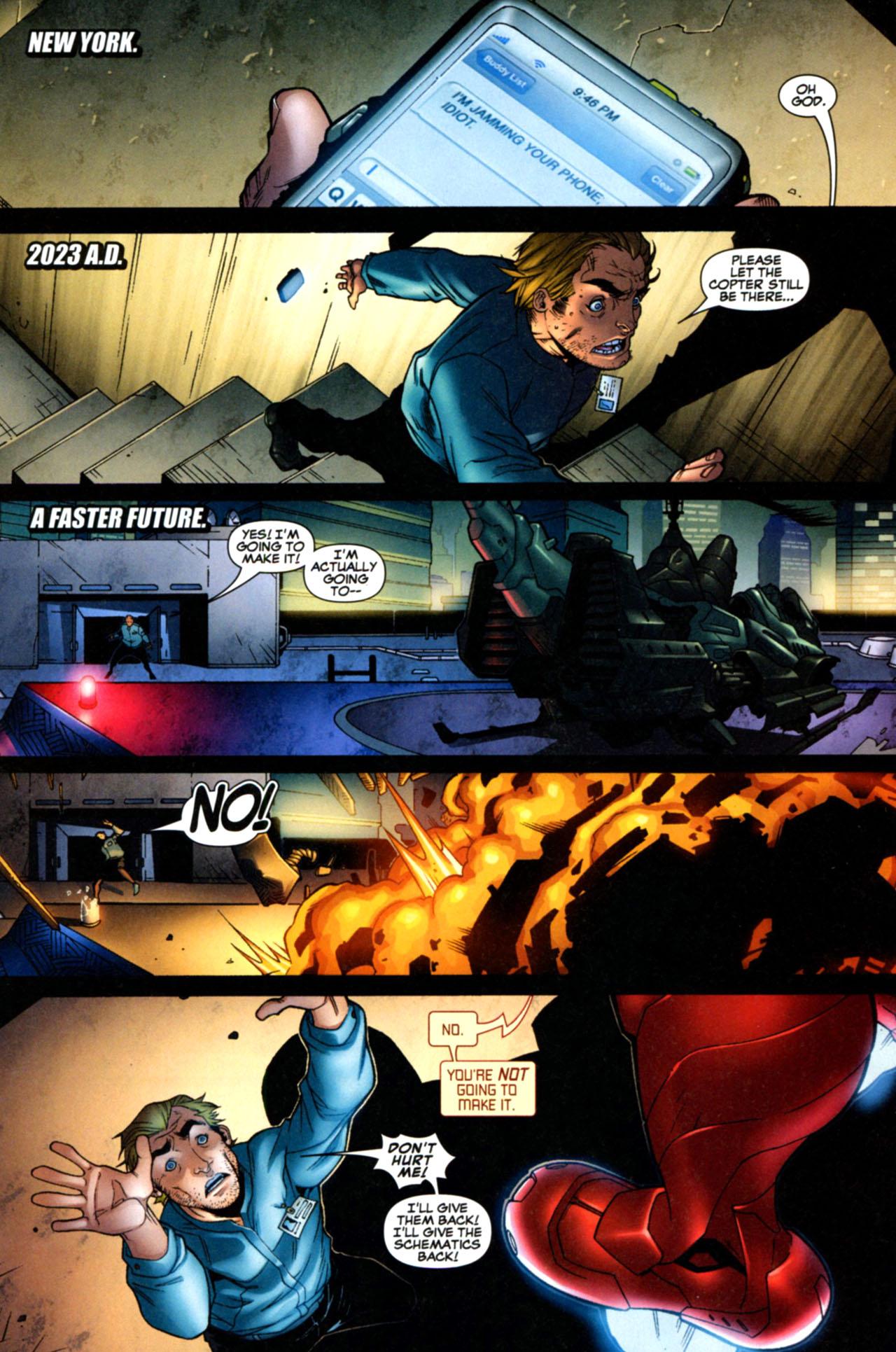 Read online Astonishing Tales (2009) comic -  Issue #1 - 11