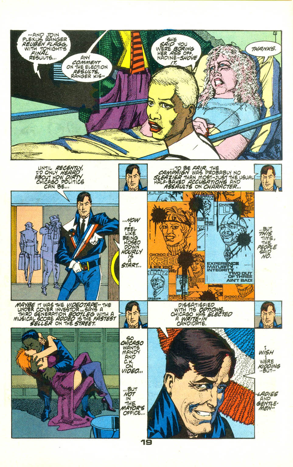 Read online American Flagg! comic -  Issue #22 - 21