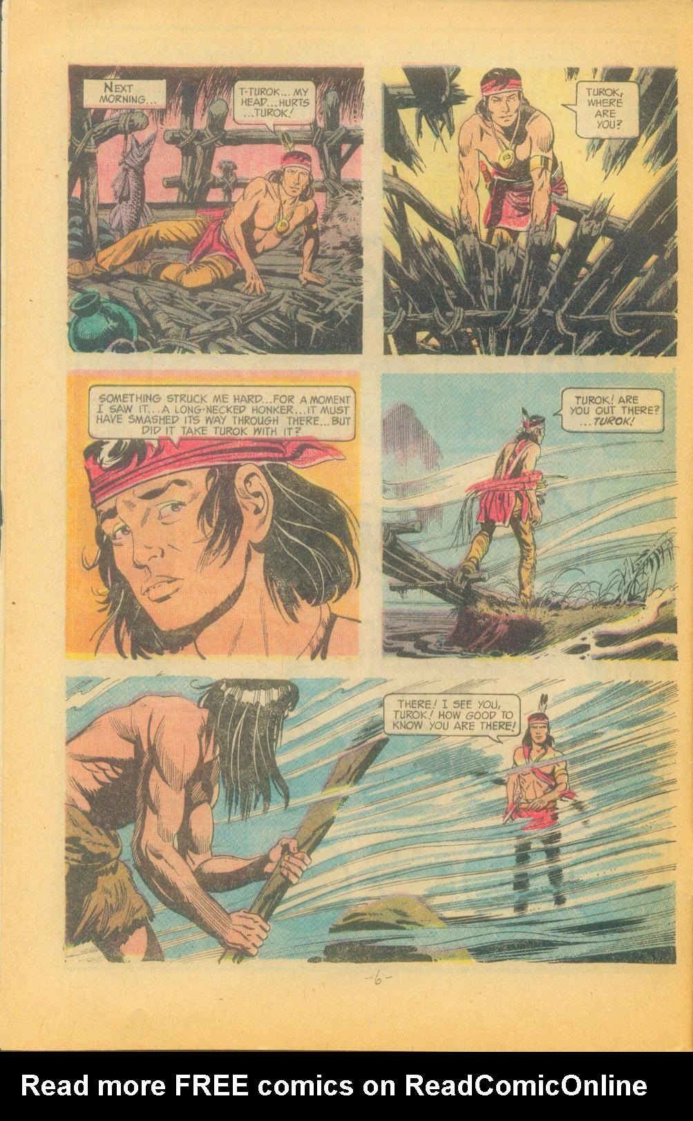 Read online Turok, Son of Stone comic -  Issue #82 - 8