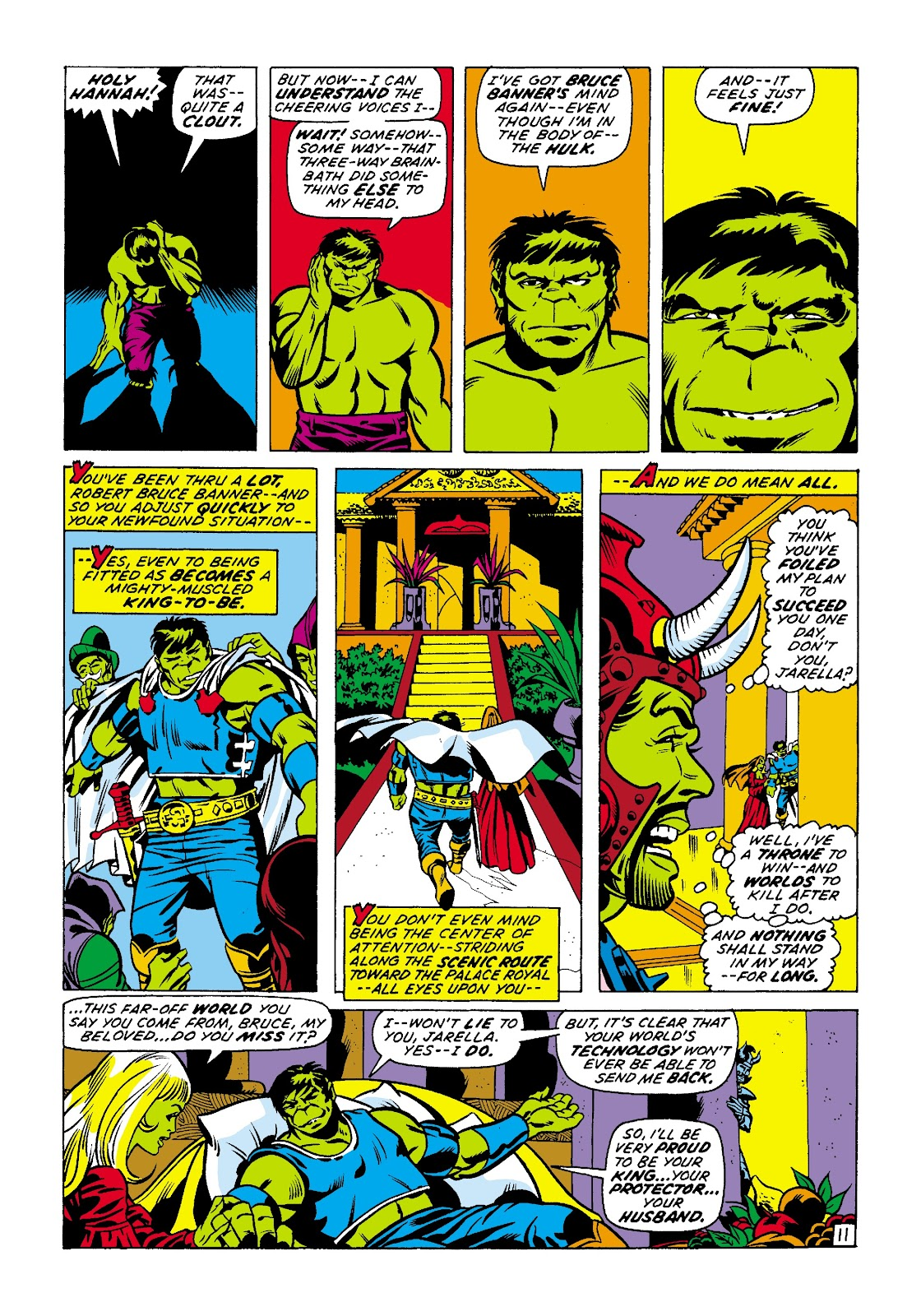 Read online Marvel Masterworks: The Incredible Hulk comic -  Issue # TPB 7 (Part 2) - 38